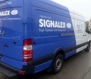Signalex Fleet Vehicle Wrap