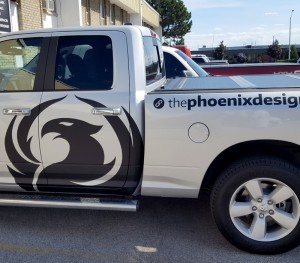 The Phoenix Design Group Truck Decals & Lettering