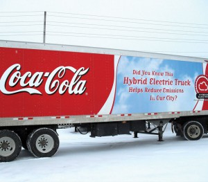 CocaCola 18 Wheeler Truck Wrap