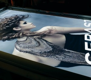 Large Format Backlit Print