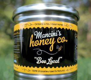 Mancinis Honey Co. Labels