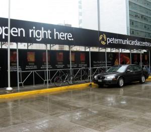 Peter Munk Centre Construction Site Hoarding