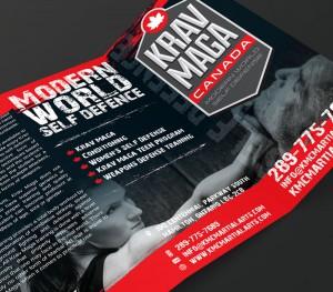 KMC Martial Arts Brochure Design