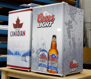 Molson Coors Bar Fridge Wraps
