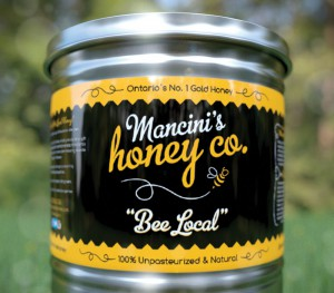 Mancinis Honey Co. Labels