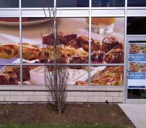Mr Greek Large Format Window Graphics