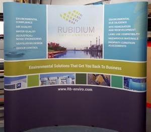 Rubidium Tradeshow Booth Display
