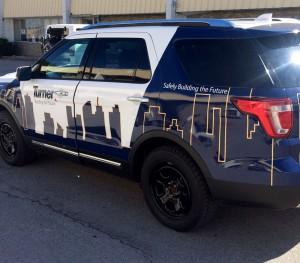 Turner Construction Fleet Vehicle Wrap