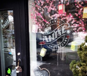 Anise Apothecary Window Decals/Graphics