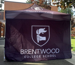 Brentwood College Tent