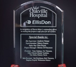 Engraved EllisDon Plaque